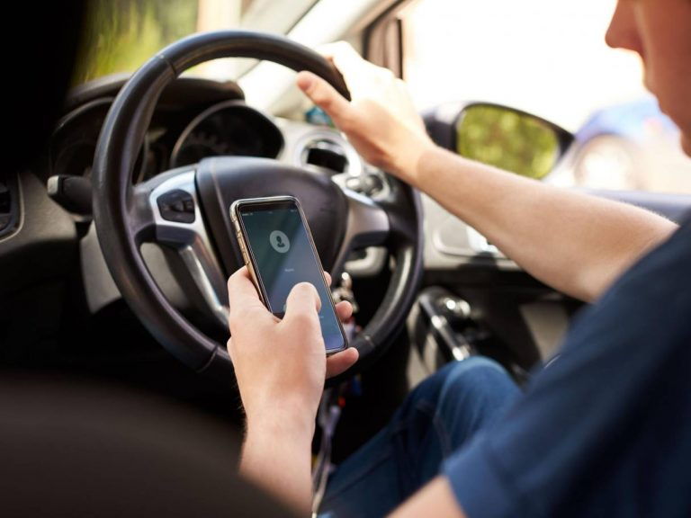 Four in five drivers put themselves and others in danger by being distracted at wheel, study claims