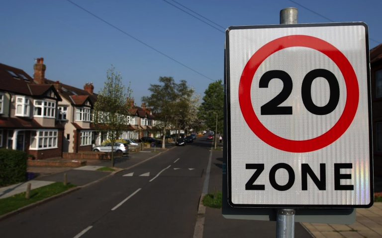 Most drivers ignore new 20mph speed limits, study finds.